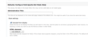 Excluding results from display allows the results to be available to views php without cluttering the patrons view