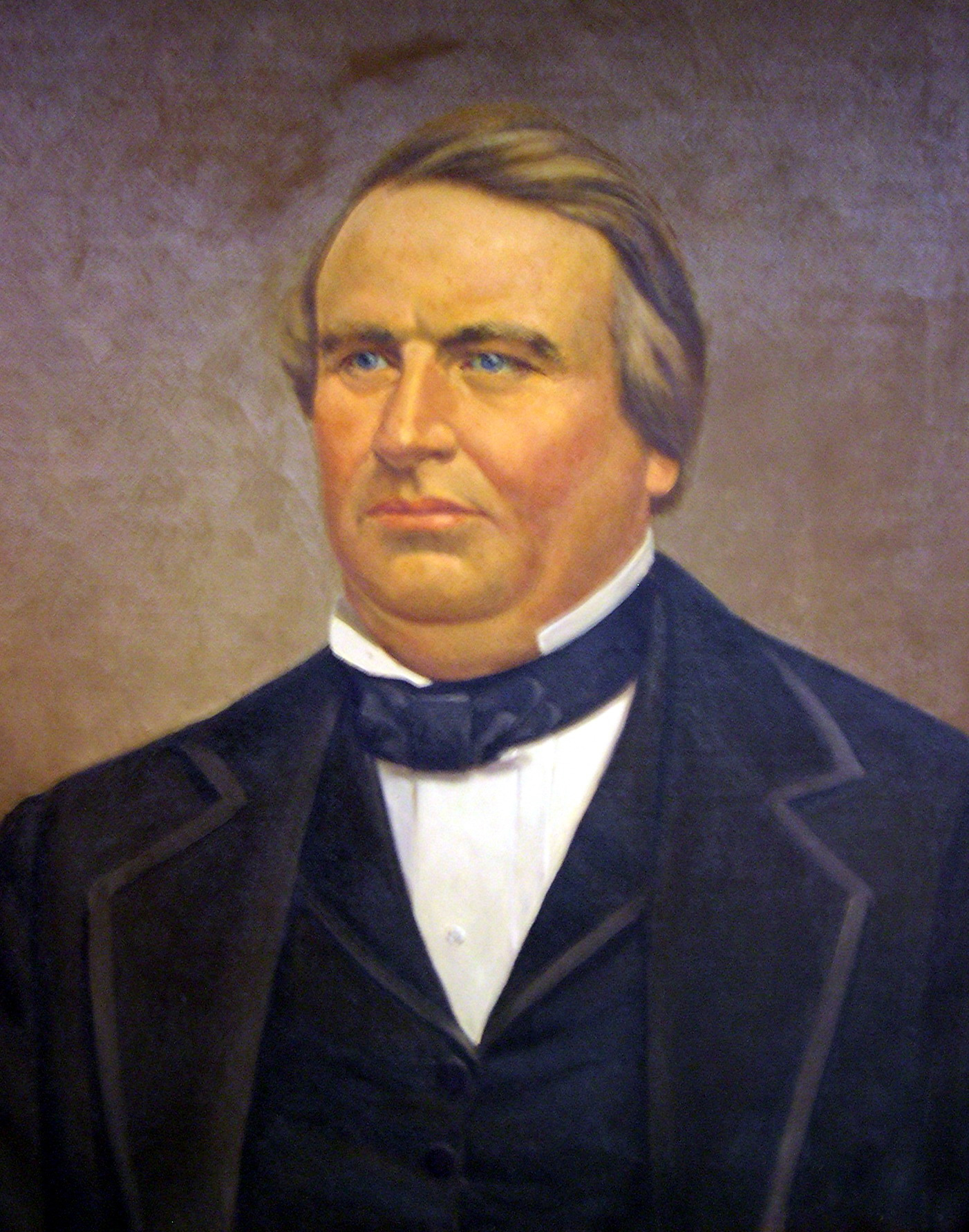 James A. Leitch portrait