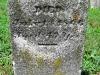John C. Hughes grave marker