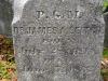 James A. Leitch grave marker