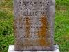 Sarah E.M. and Ellie M. Hughes grave marker